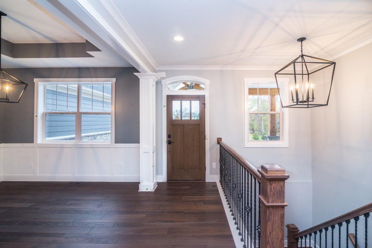 Walkout Custom Ranch with Finished Basement - Interior Entry